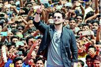 Neil Nitin Mukesh and Manav Kaul add color to Lucknow's sporting event
