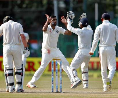 India close in on big win in historic 500th Test