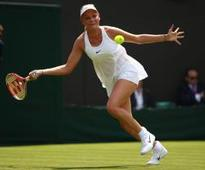 Wimbledon stars slam revealing Nike dress
