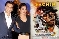 Priyanka and Ranveer cheer for 'Sachin: A Billion Dreams'