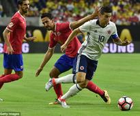 Colombia 2-3 Costa Rica: Johan Alberto Venegas' stunning strike helps already eliminated side secure victory