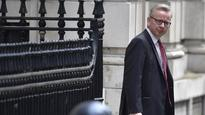 Britain's Justice Secretary Michael Gove to run for PM, shakes Conservative leadership race