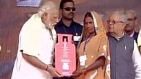 PM Modi turns up poll heat in UP with cooking gas sop