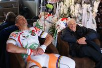 Frenchman Cycles from Paris to Moscow Without Moving an Inch to Set New World Record