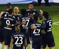 Bundesliga: Corentin Tolisso helps Bayern Munich beat Hamburg; Borussia Dortmund held by Eintracht Frankfurt