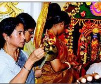 Mamata Banerjee writes songs for Durga Puja