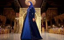 Daughter of Chechen leader Ramzan Kadyrov shows off fashion collection