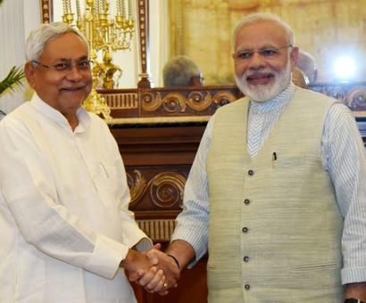 Nitish Kumar only bats for himself