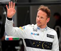 Button lucky to escape with damaged car