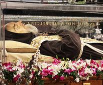Padre Pio's incorrupt body is in Rome  here's why