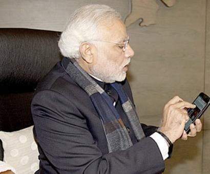 Modi calls up Trump, congratulates him on election win