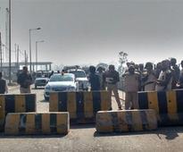 Police seal Haryana-Punjab border, traffic disrupted