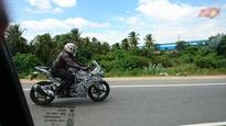 TVS Akula 310 (Raptor) spotted testing again; to be launched by 2016-end