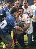 Maradona skips football match with Ganguly