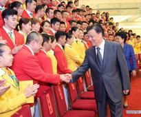 China to send 416 athletes to Rio Olympics