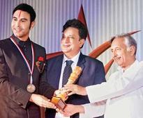 Sandip Soparrkar receives national honour