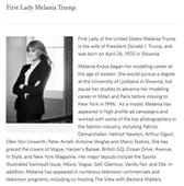 White House website highlights Melania's QVC jewelry line