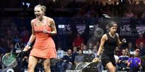 Laura Massaro is new squash queen