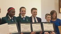 Bulletproof material design earns Grade 8 students science competition win