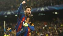 Lionel Messi double edges six-goal thriller Barca's way