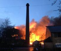 In Pictures: Drummonds Mill fire