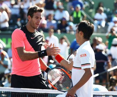 Miami Masters: Cilic, Del Potro, Venus advance, Dimitrov beaten