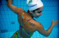 Synchronized swimmers hope for hometown success in Brazil