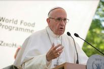 Pope urges stronger commitment to fighting hunger