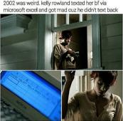 Nelly FINALLY Addresses Why Kelly Rowland Was Texting on Excel in the 2002