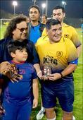 Check out Bappi Lahiri meets football legend Maradona
