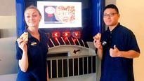 North America gets its first pizza ATM