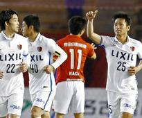 Defending champion Kashima earns first victory in Nabisco Cup