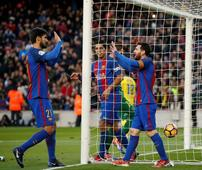 Barca ease past Las Palmas to provisionally go second