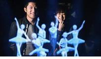 Dance with holograms of Leonardo...