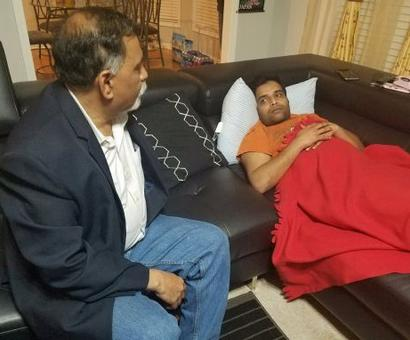 Indian Consul General meets Kansas shooting survivor