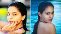 Check Pics: Shah Rukh Khan's daughter Suhana's pool picture reminds us of Disha Patani's click in a bikini