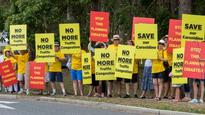 Residents out in force against former QUT campus development in Brisbane's north