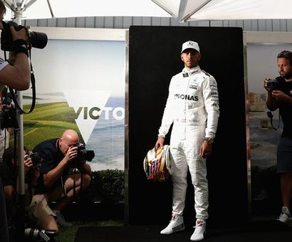 Pre-race buzz: Lewis Hamilton 'in league of his own'