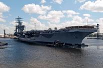Pentagon Bars Press from Congressional Hearing Aboard Aircraft Carrier