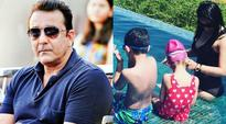 Sanjay Dutt's wife Maanyata Dutt has the perfect beach time with kids in Sri Lanka, see pics