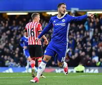 Premier League: Eden Hazard says he is very happy to play for Chelsea, plays down transfer rumours