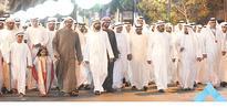 VP, AD CP lead Qasr Al Hosn march