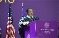 Prominent U.S. Journalist Addresses NU-Q Convocation