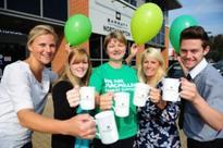 Housebuilder celebrates Macmillan coffee morning