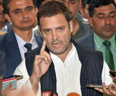 Rahul to visit Amethi on Jan 15 for 1st time as Congress chief