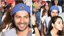 In Pics: Varun Dhawan and Natasha Dalal couldn't stop smiling post their dinner date