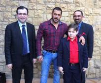 Find out how Salman Khan fulfilled a Pakistani child's wish!