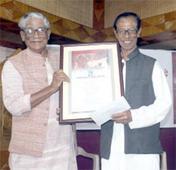 Pranab Barua award to Troilokya Datta