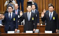 Beleaguered Samsung chief gets a grilling in South Korea