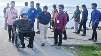 On a quest to make fort Kochi 'differently-abled tourist-friendly spot'